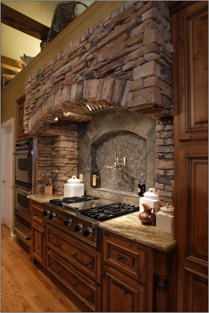 Decorative Stone Kitchen Hoods