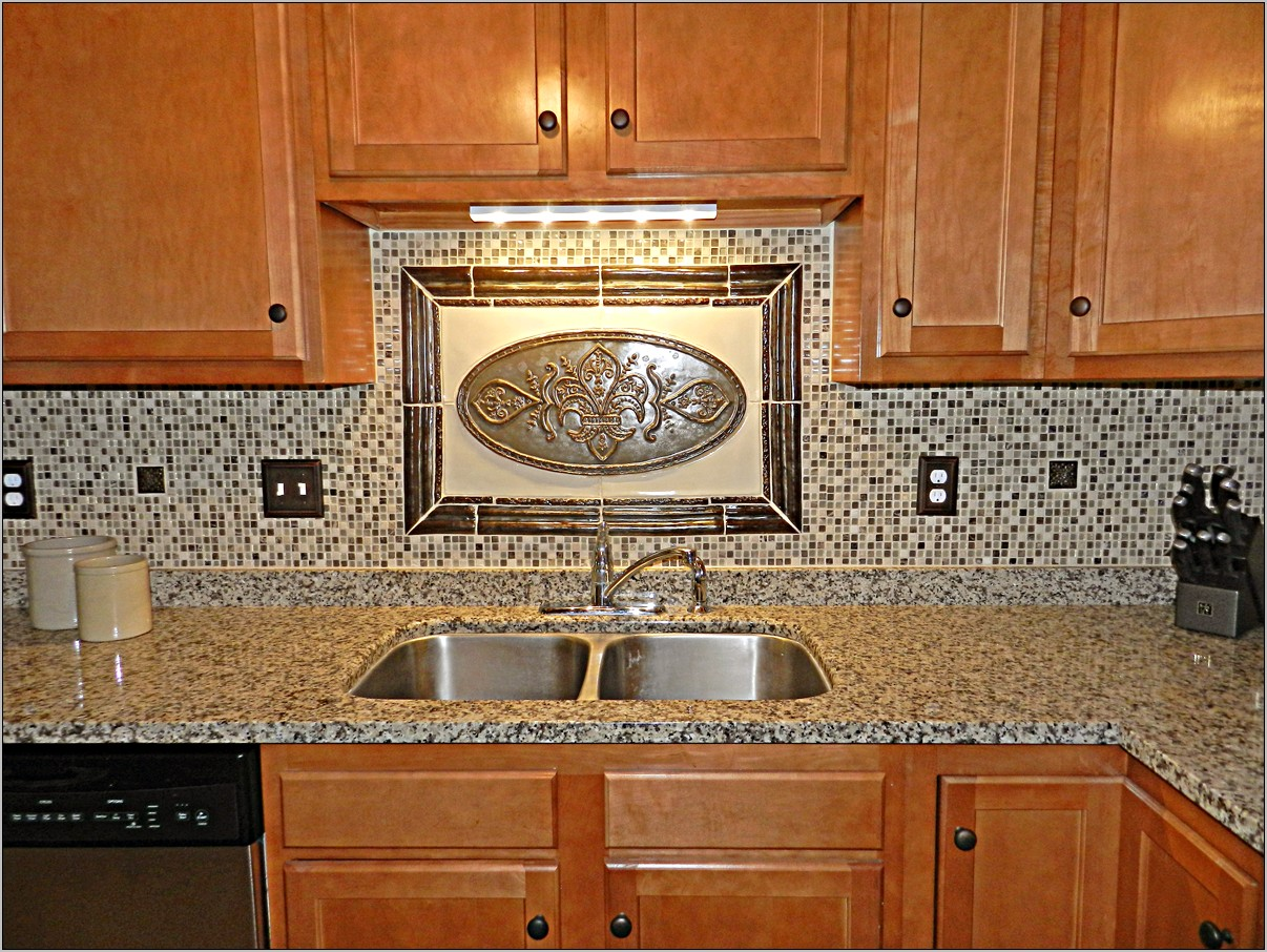 Decorative Tile Wall Kitchen