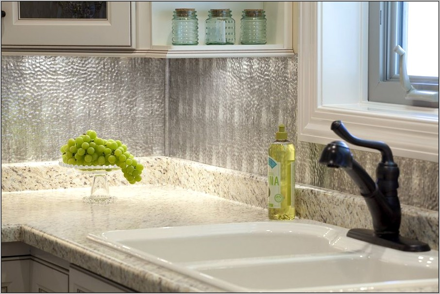Decorative Tin Sheets For Kitchen Backsplash