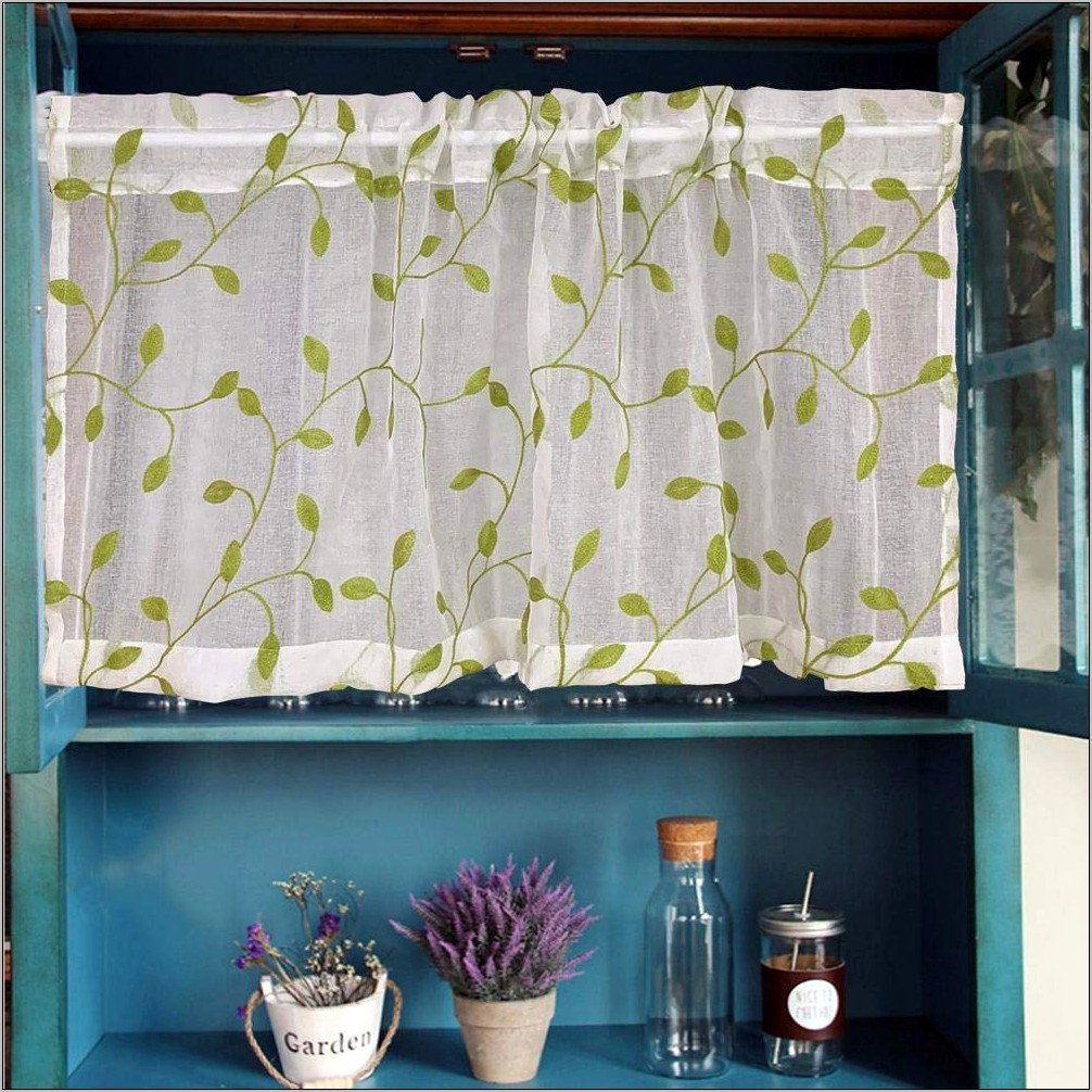 Decorative Valance For Kitchen
