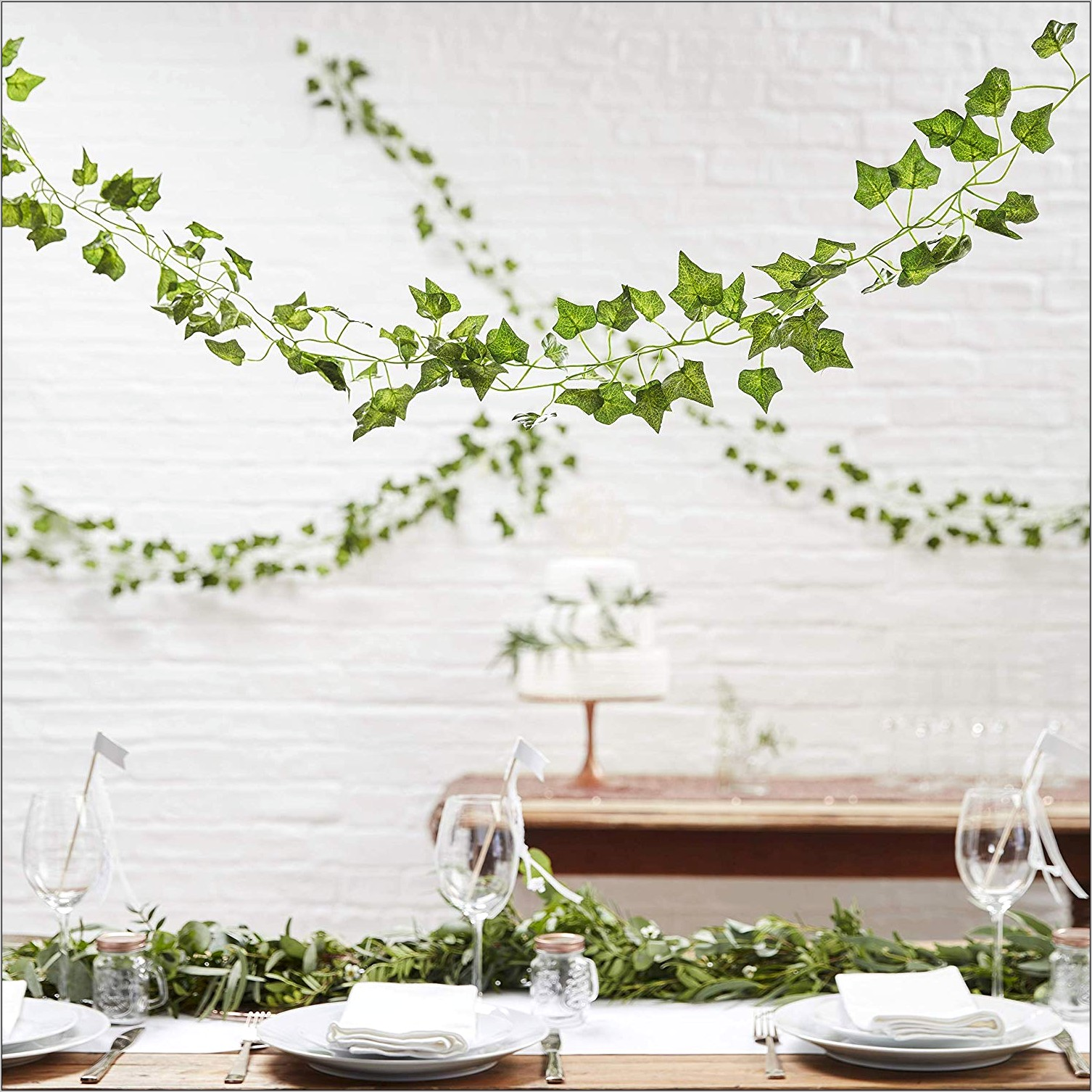 Decorative Vines For Above Kitchen Window