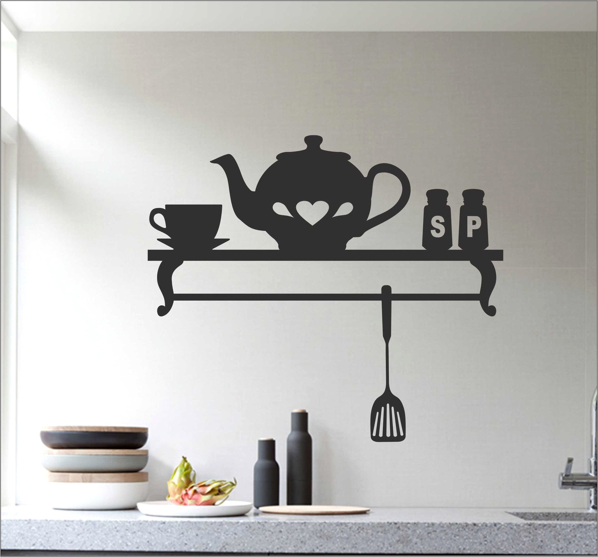 Decorative Wall Decals Kitchen