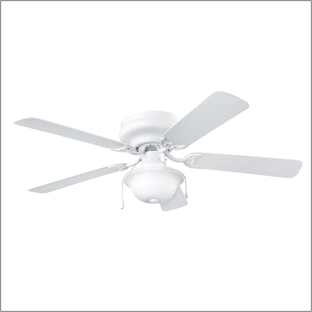 Decorative White Kitchen Fans