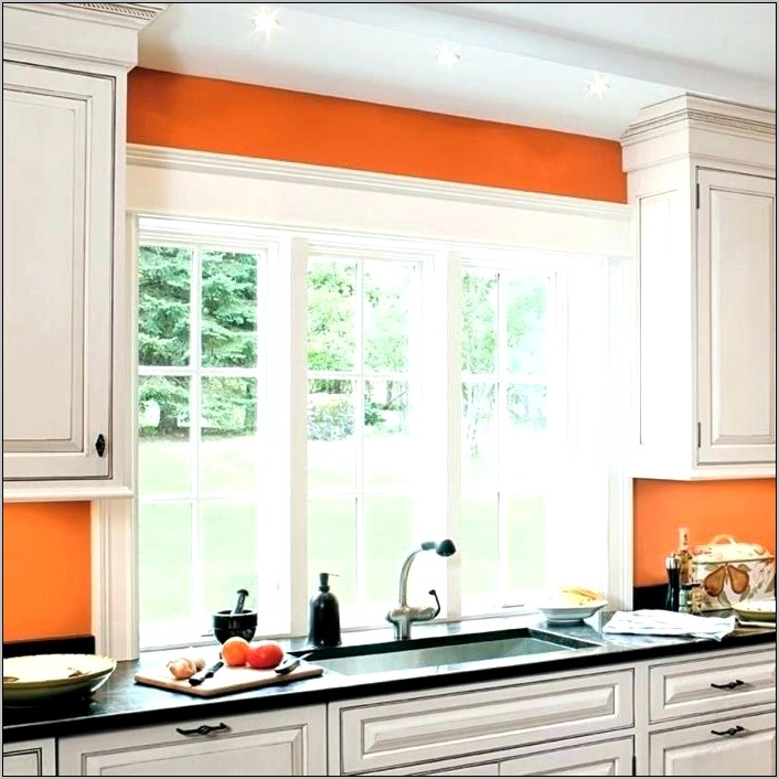 Decorative Wood Over Kitchen Window