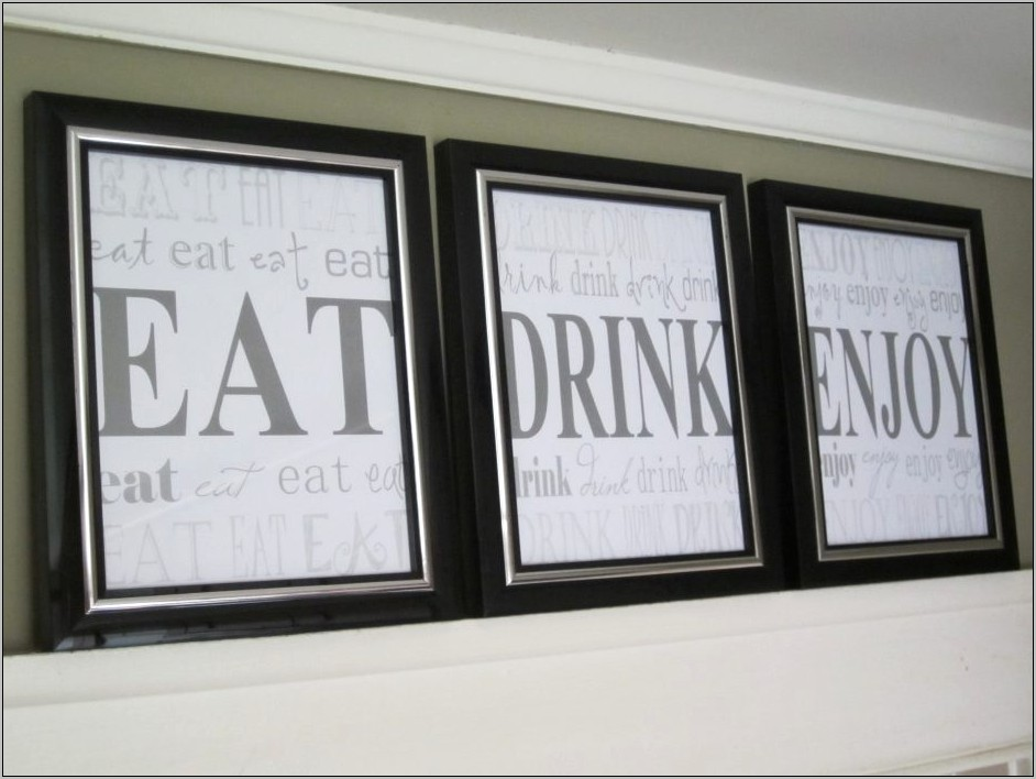 Decorative Words For Kitchen Walls