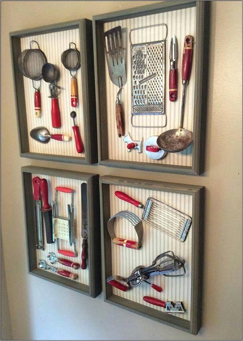Dining Room Decor Vintage Kitchen Utensils