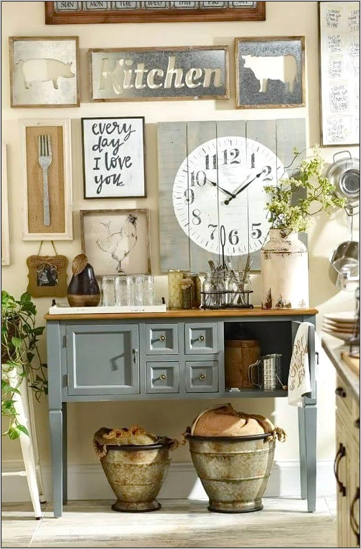 Diy Kitchen Wall Decor Ideas