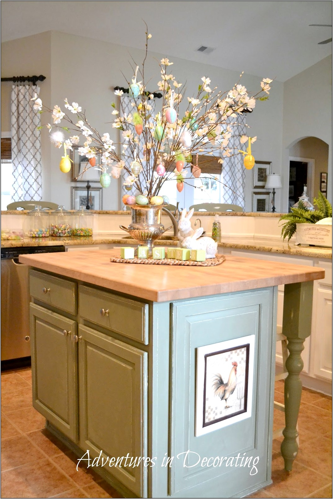 Easter Decorations Kitchen Cabinets
