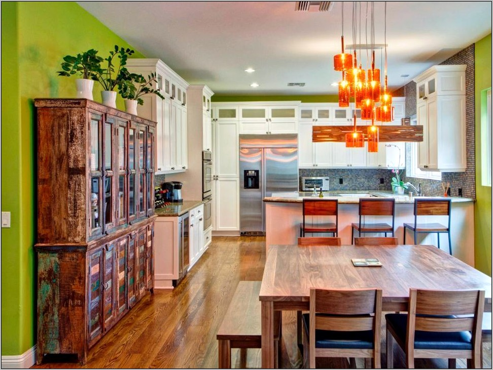 Eclectic Kitchen Decorating Ideas