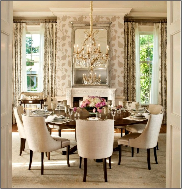 Elegant Kitchen Table Decorating Ideas
