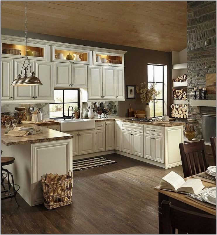 Elle Decor Blue Kitchen