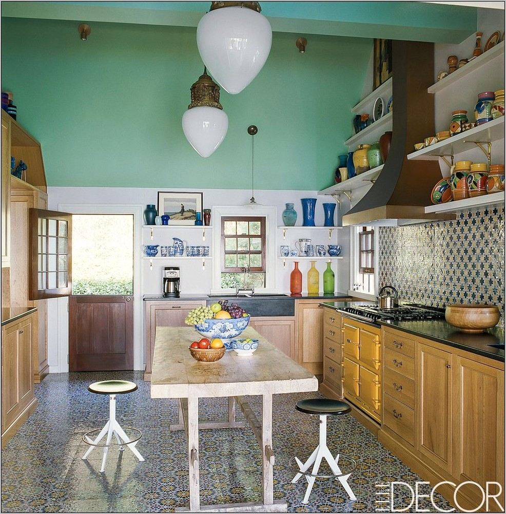 Elle Decor Kitchen 2019