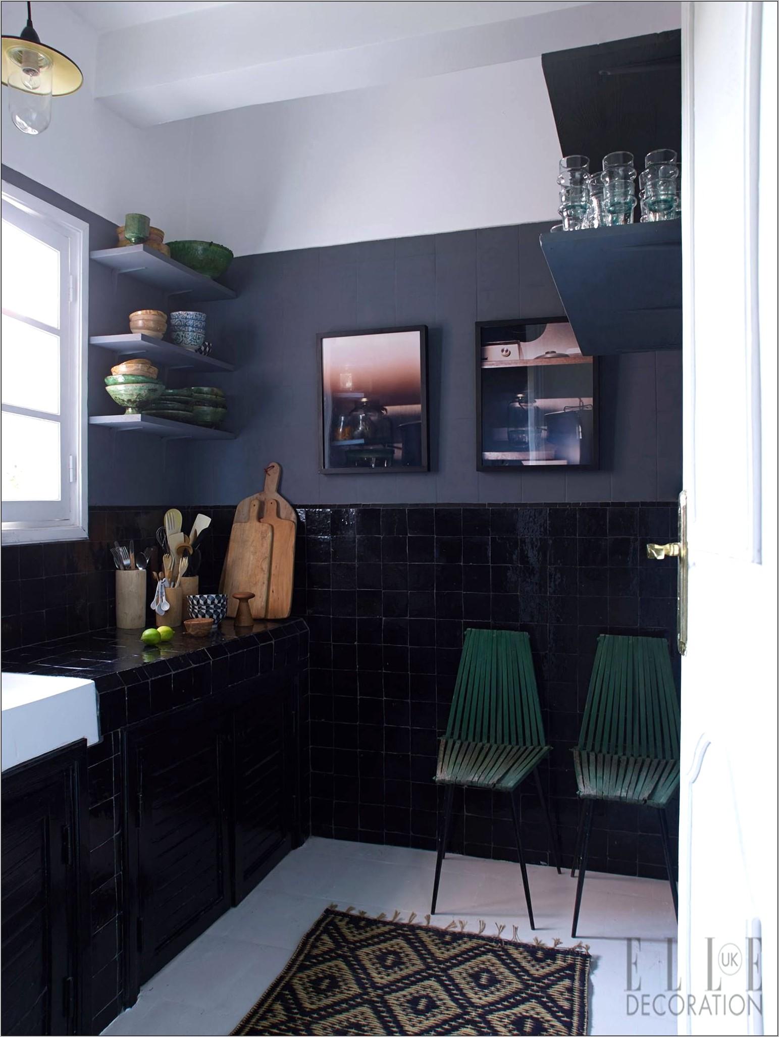 Elle Decor Kitchen Backsplash