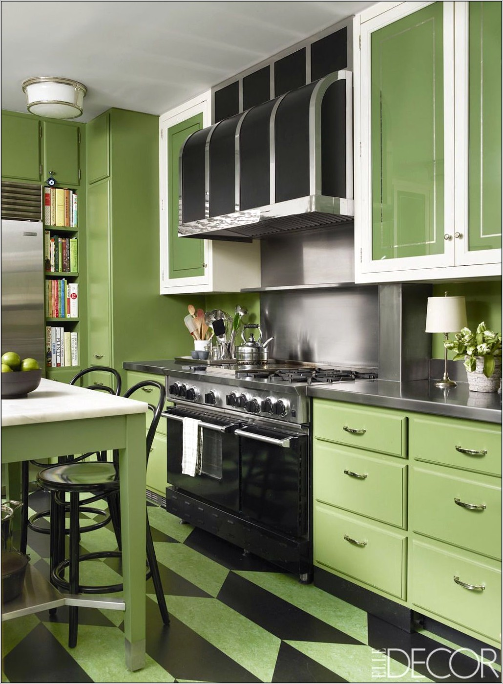 Elle Decor Kitchen Cabinets