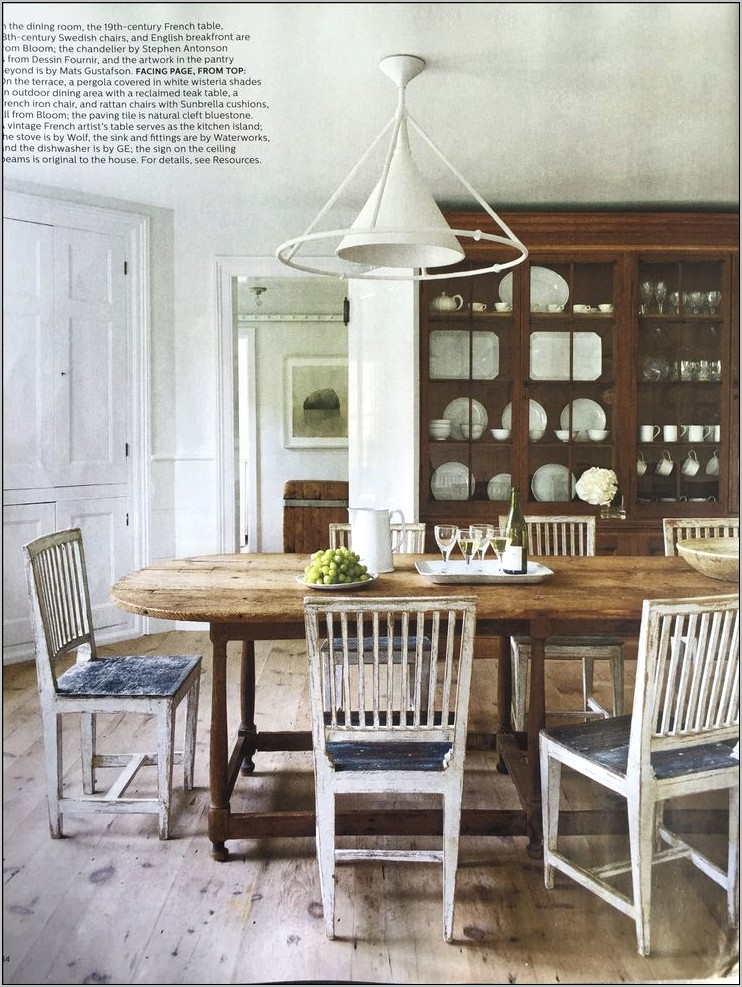 Elle Decor Kitchen Tables