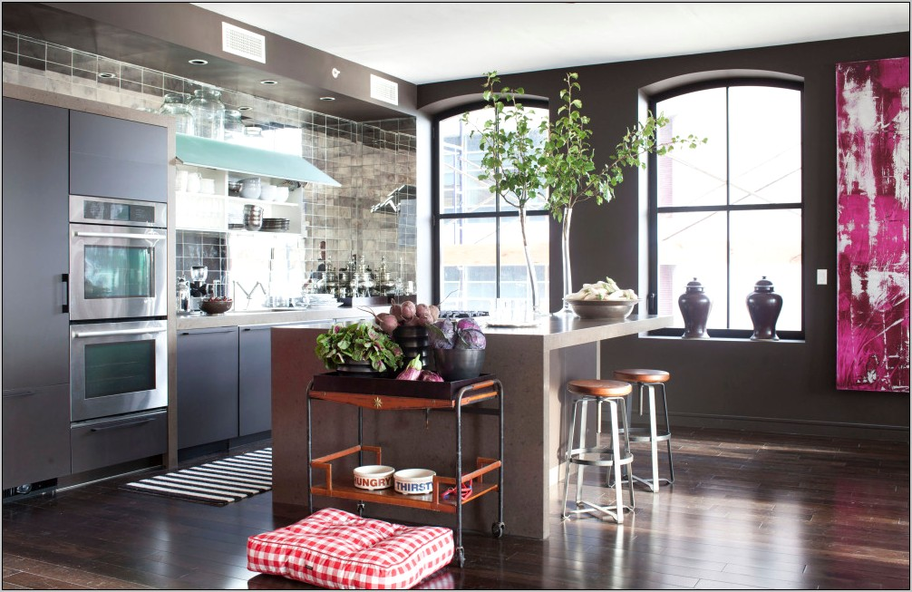 Elle Decor Kitchens 2013