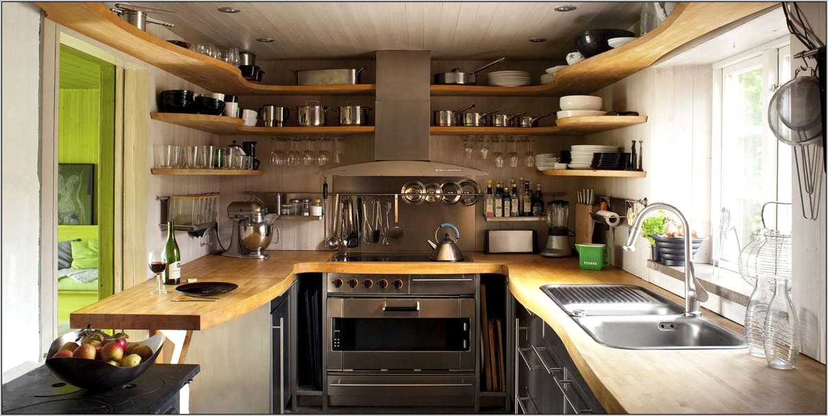 Elle Decor Small Kitchens