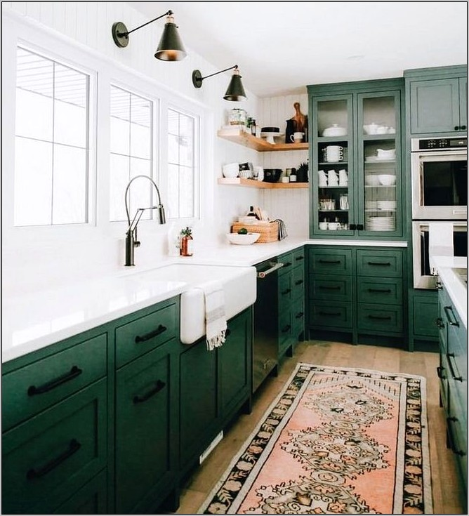Emerald Green Kitchen Decor