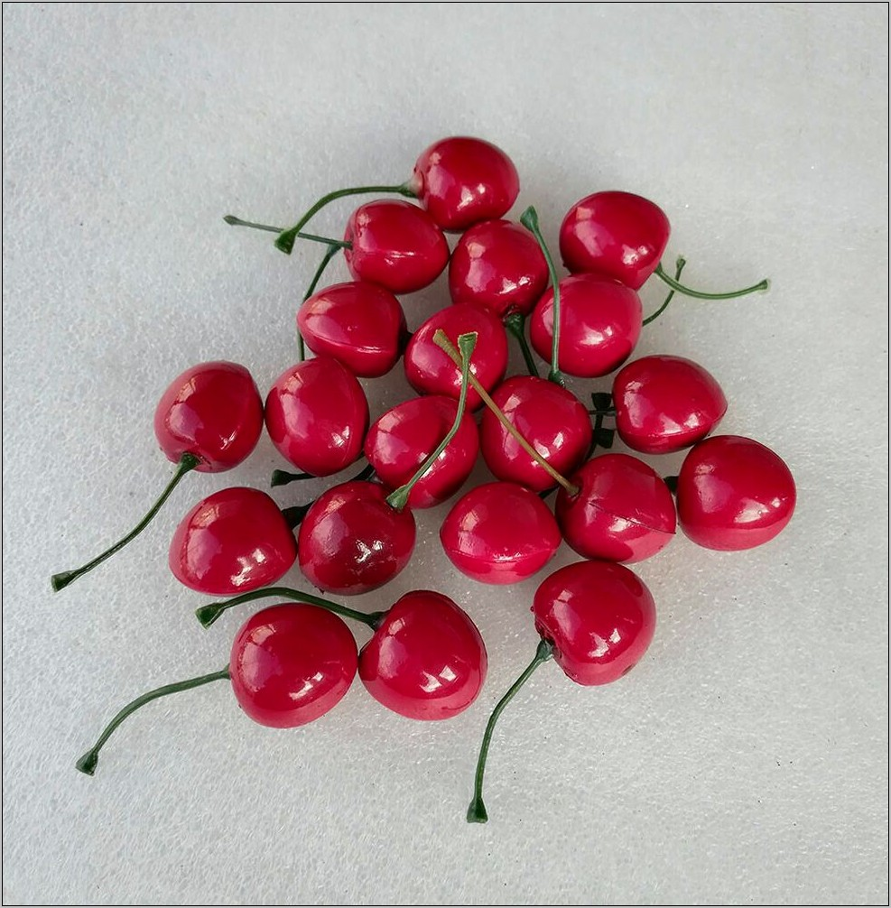 Fake Cherry Decor For Kitchen