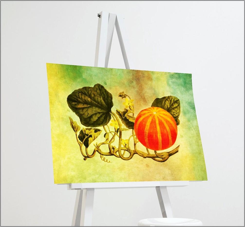 Fall Print Kitchen Decor