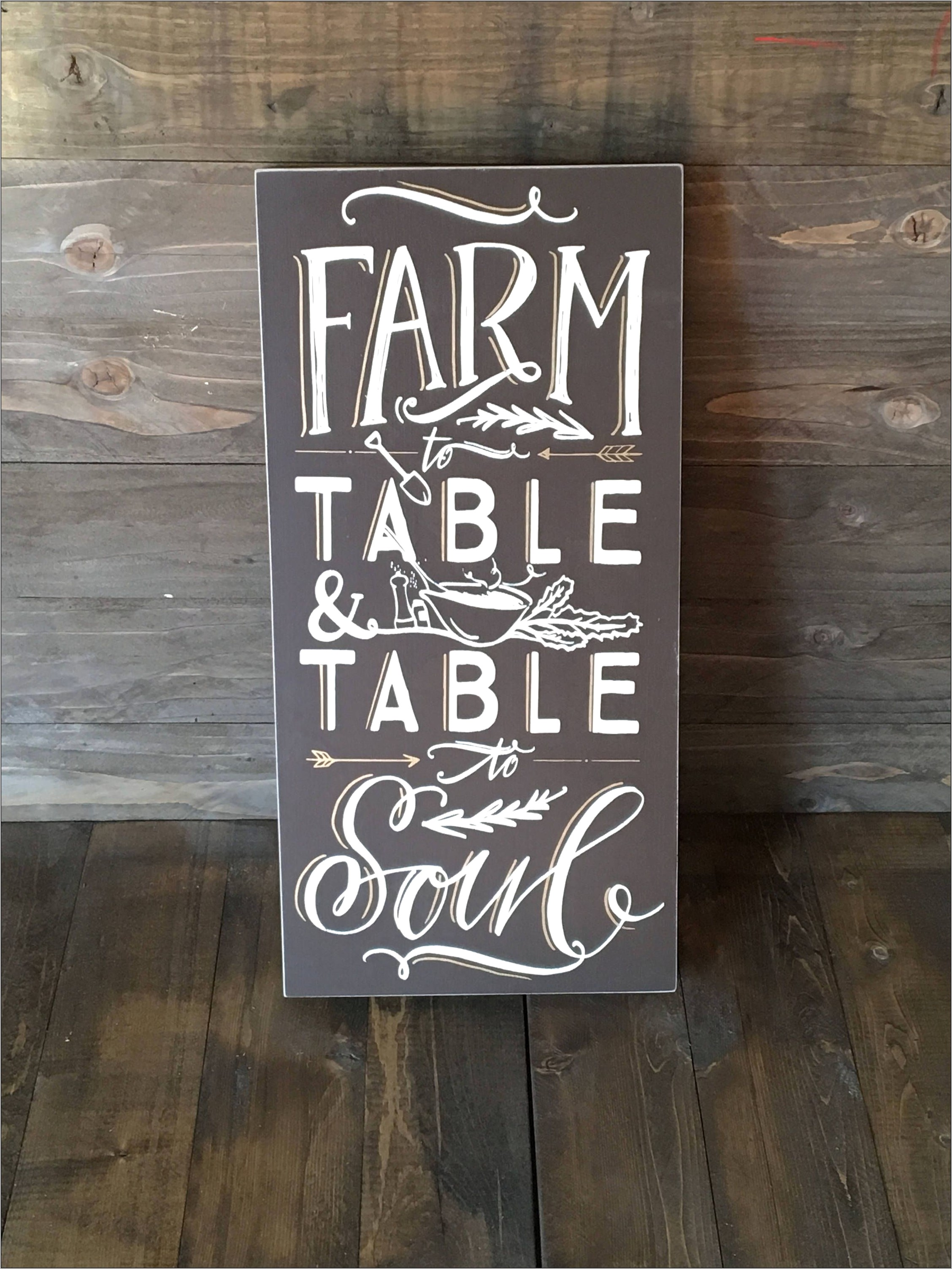 Farm To Table Kitchen Decor