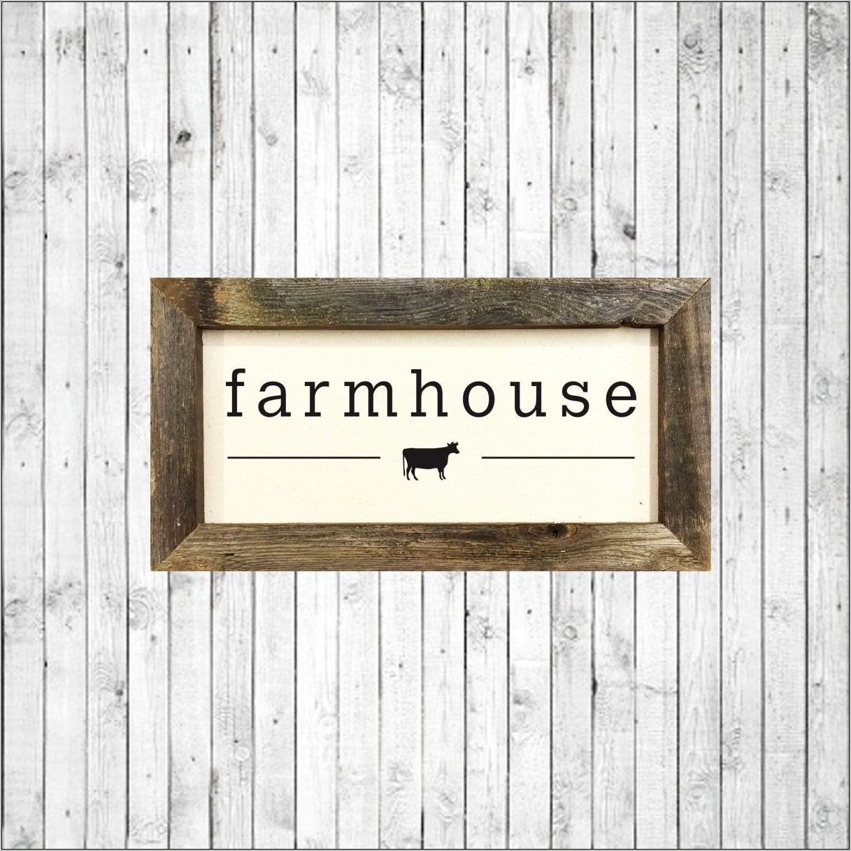 Farmhouse Canvas Decor For Kitchen