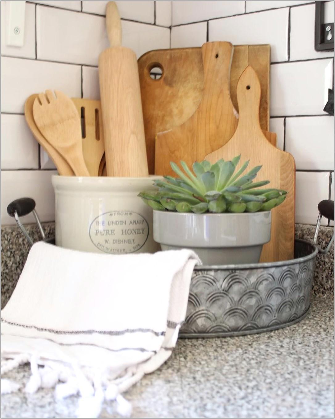 Farmhouse Decor For Kitchen Counter