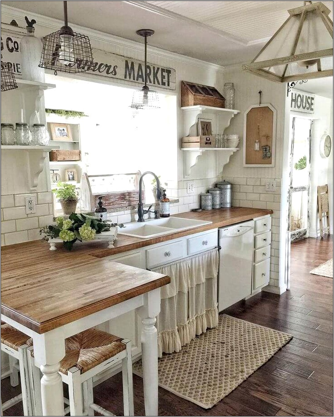 Farmhouse Decorating Farmhouse Kitchen