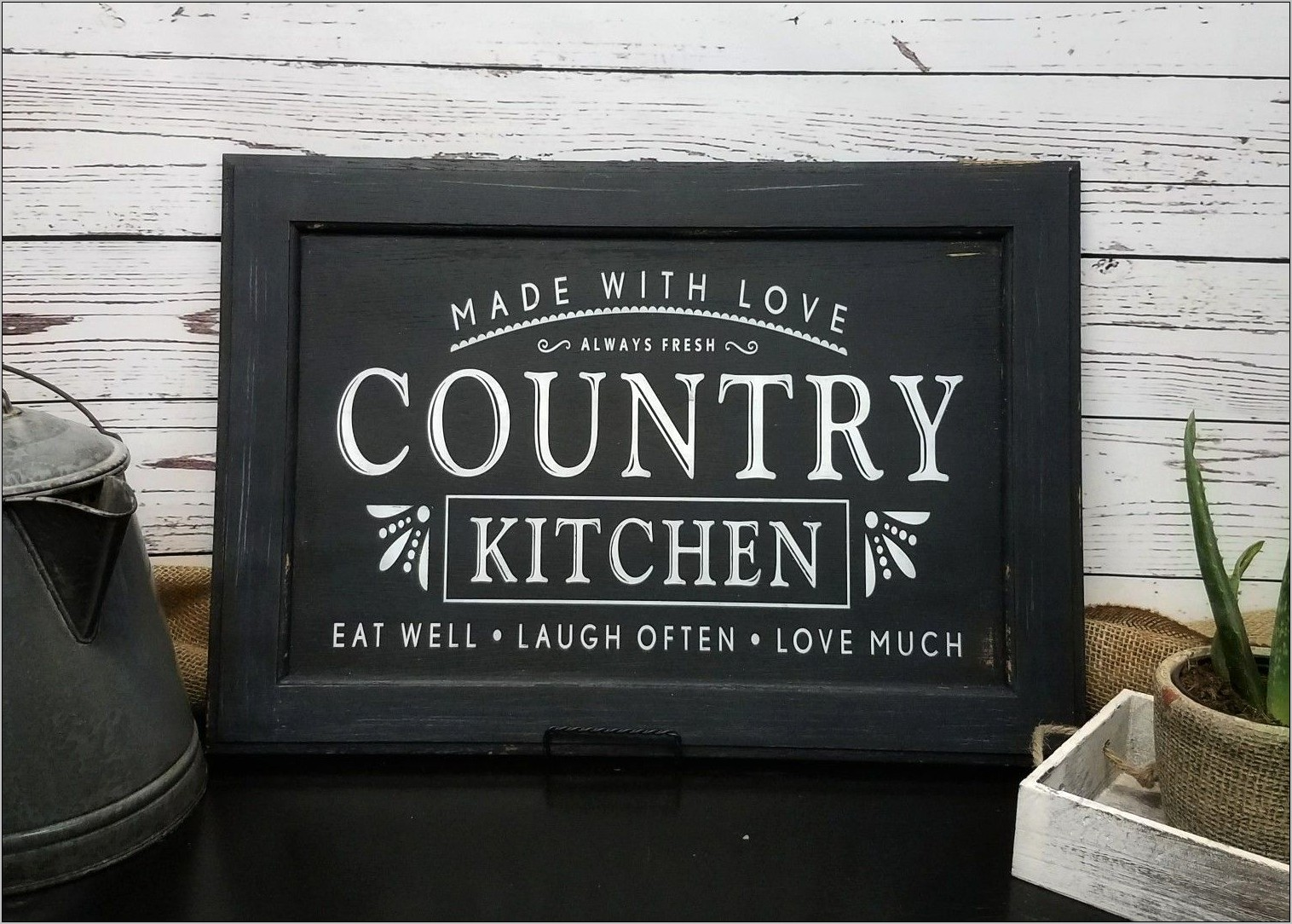 Farmhouse Kitchen Decor Signs