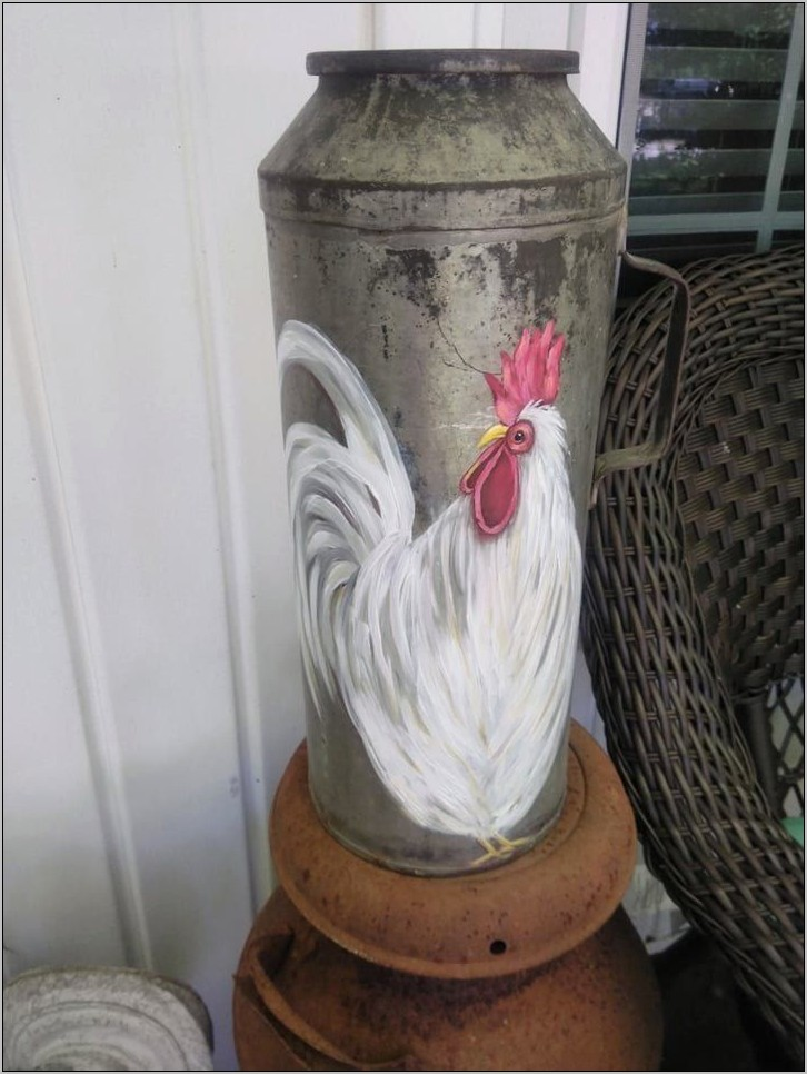 Farmhouse Rooster Kitchen Decor