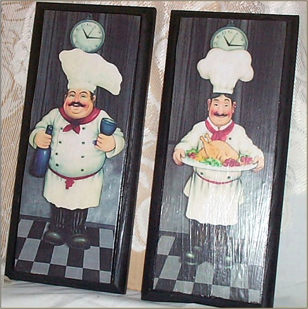 Fat Chef Kitchen Decor Ebay
