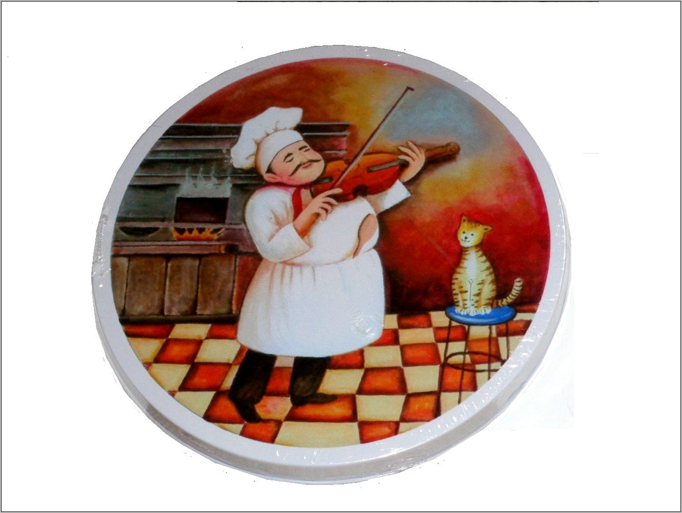 Fat French Chef Kitchen Decor
