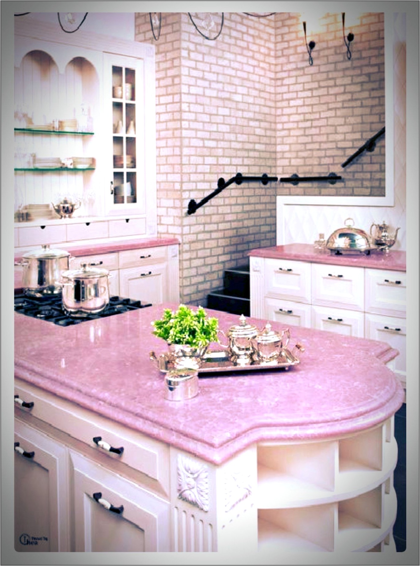 Flamingo Decor Ideas For Small Kitchens Pinterest