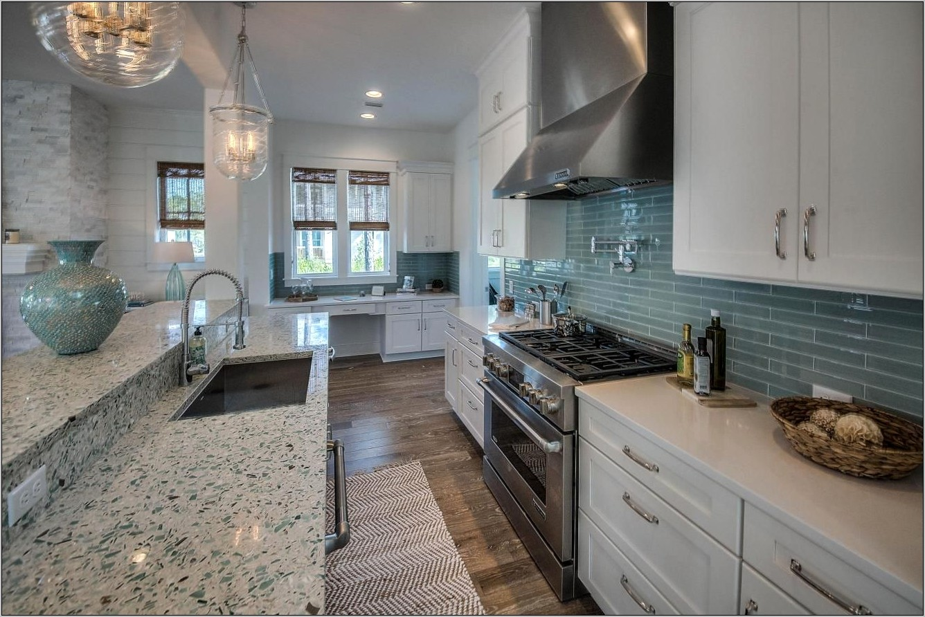 Florida Coastal Decor Kitchens