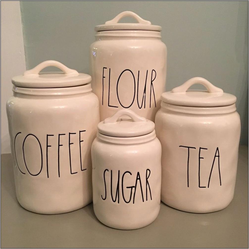 Flour Sugar Containersmodern Kitchen Decorating Ideas