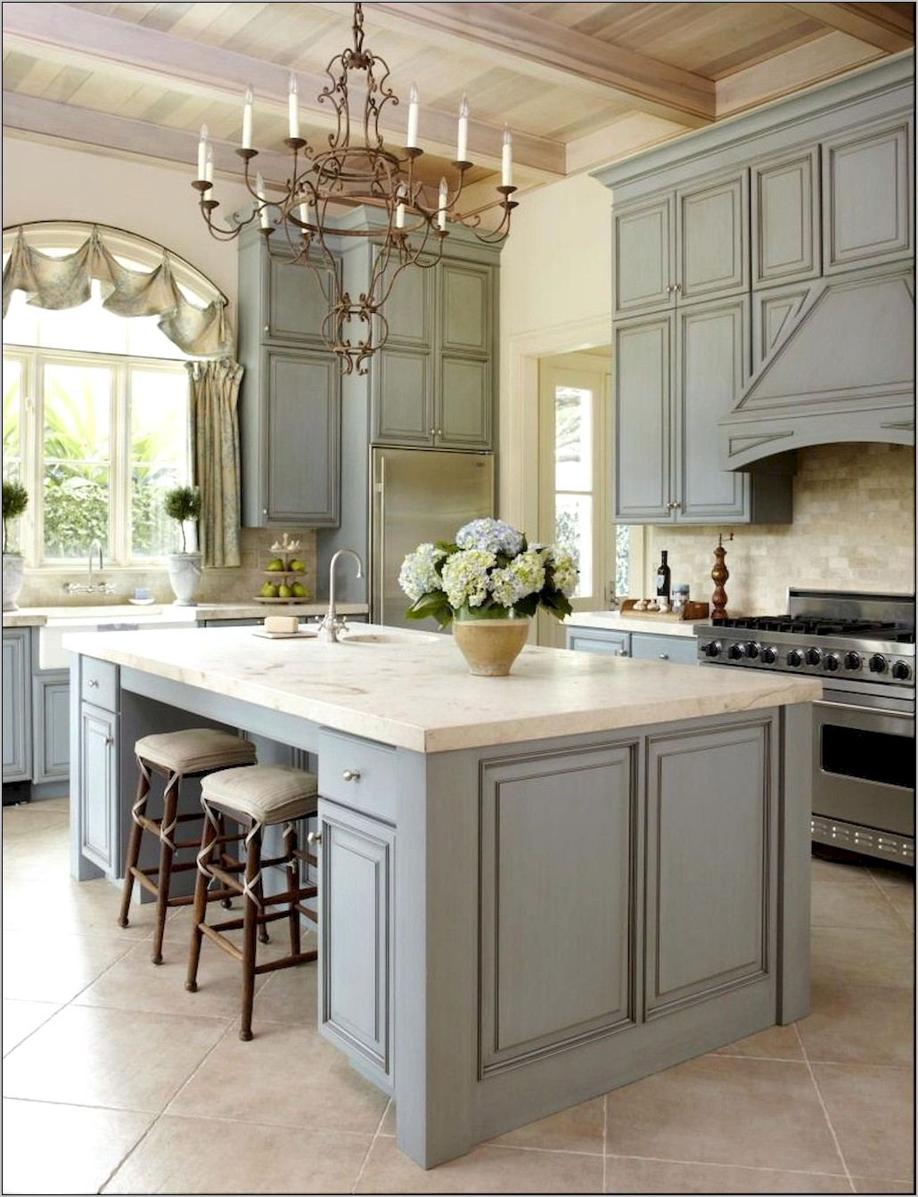 French Blue Kitchen Decor