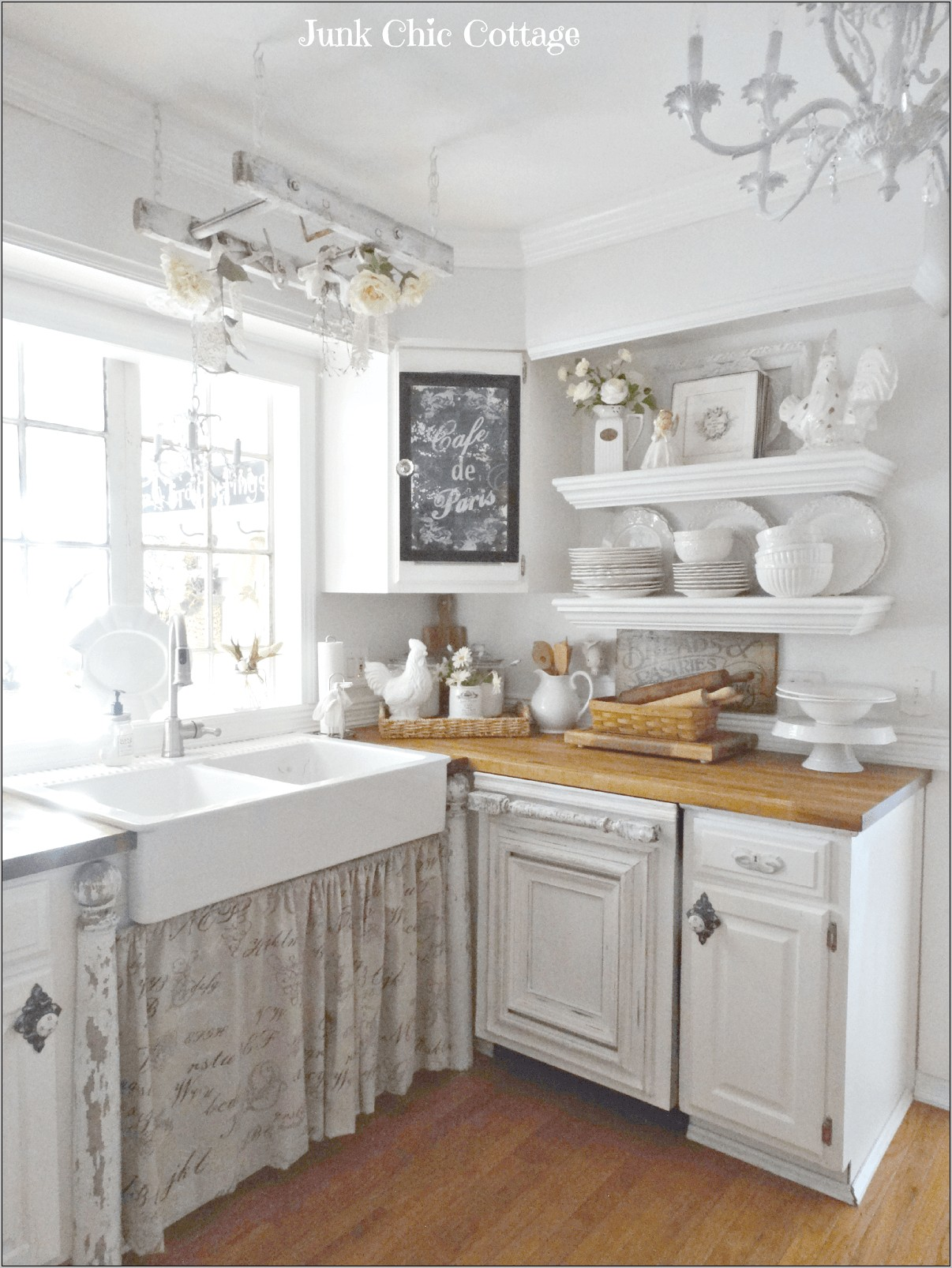 French Chic Kitchen Decor