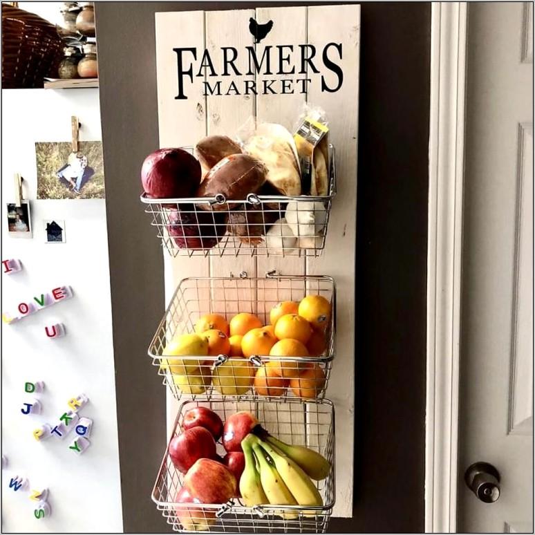 Fruit And Vegetable Kitchen Decor