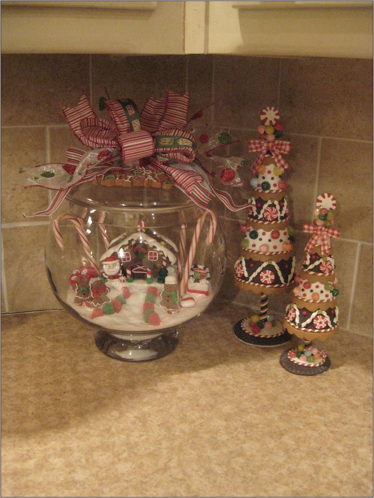 Gingerbread Kitchen Decor Ideas