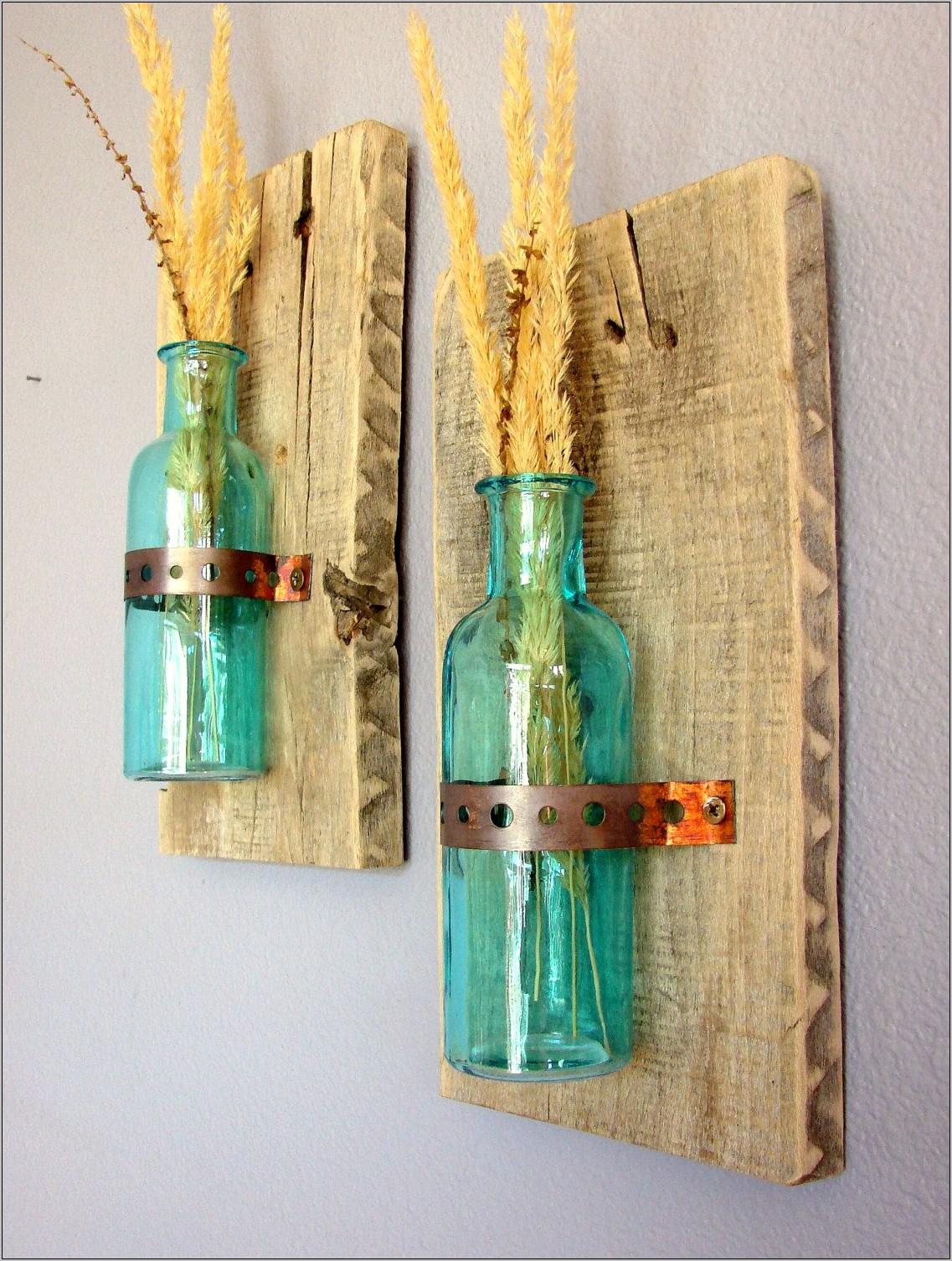 Glass Bottle Kitchen Decor