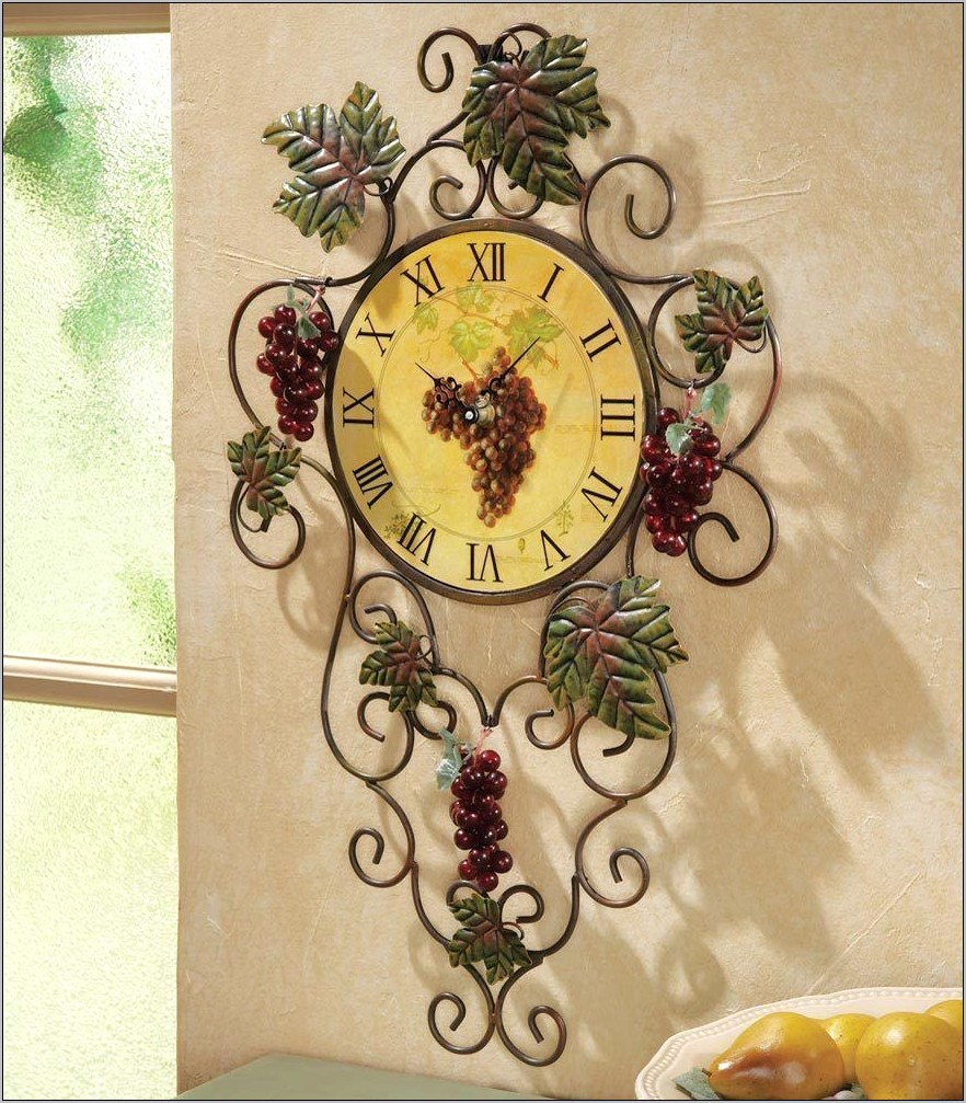 Grape Vine Kitchen Decor