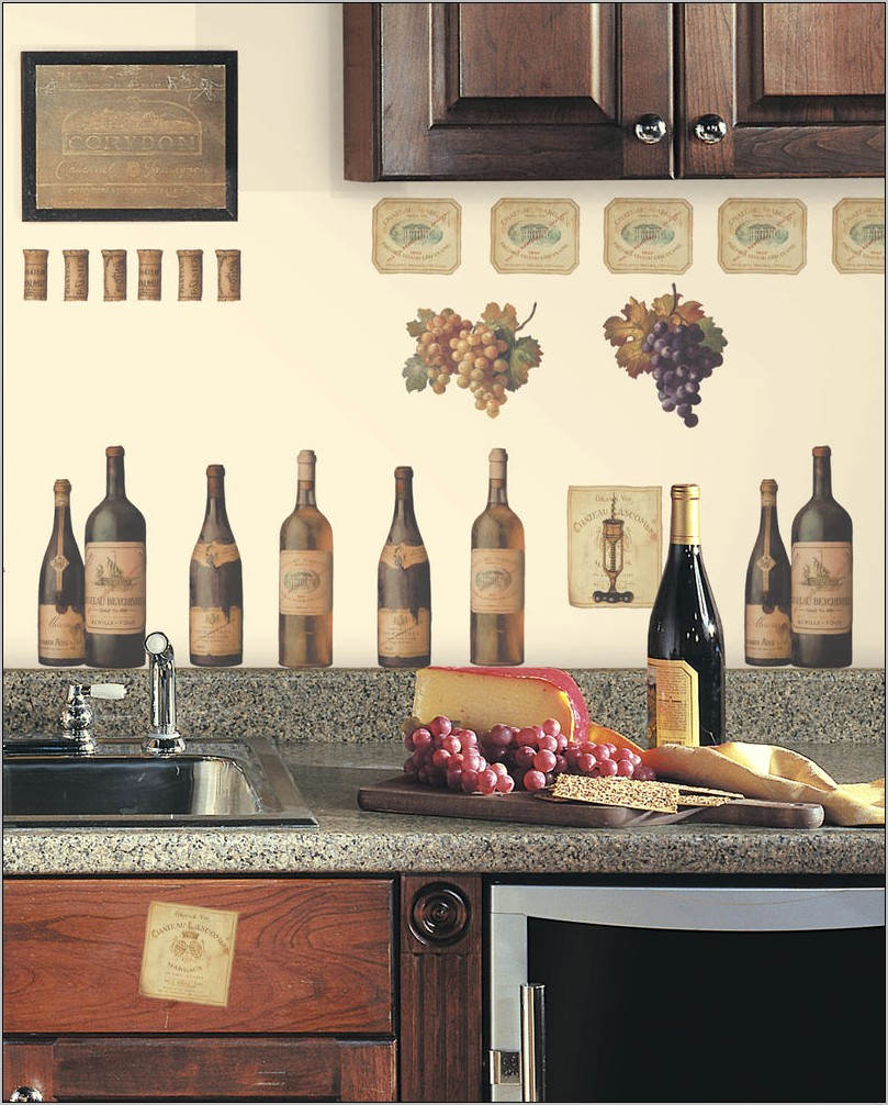 Grape Wall Decor For Kitchen