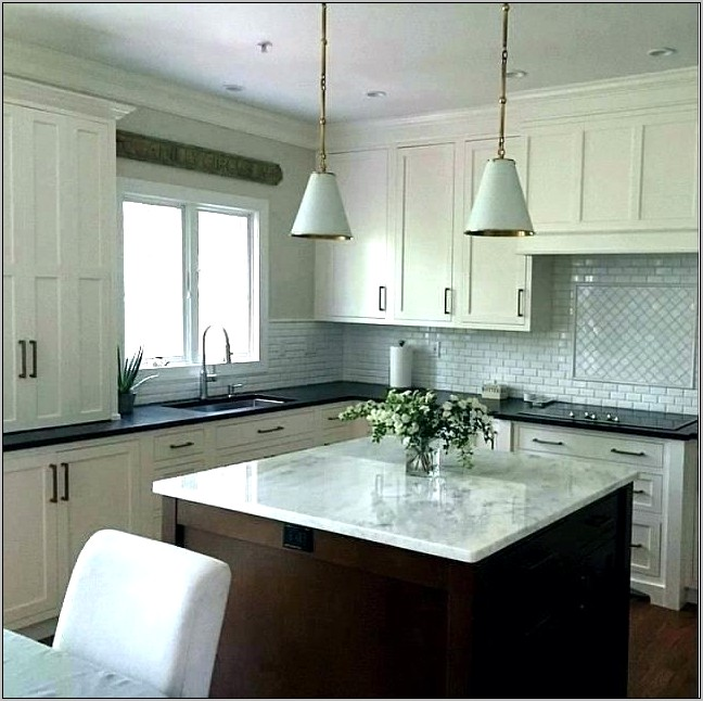 Gray Decorations For Gray Kitchen Cabinets