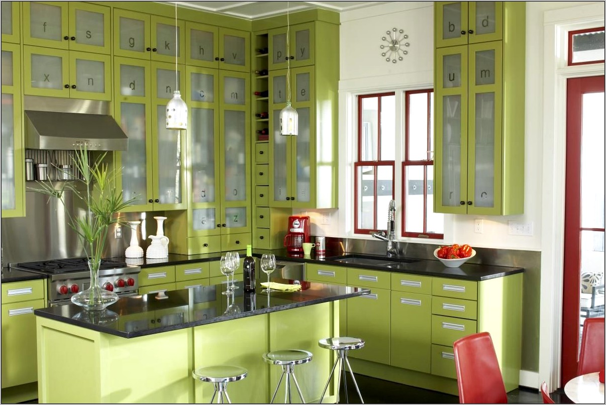 Green Decorations For Kitchen
