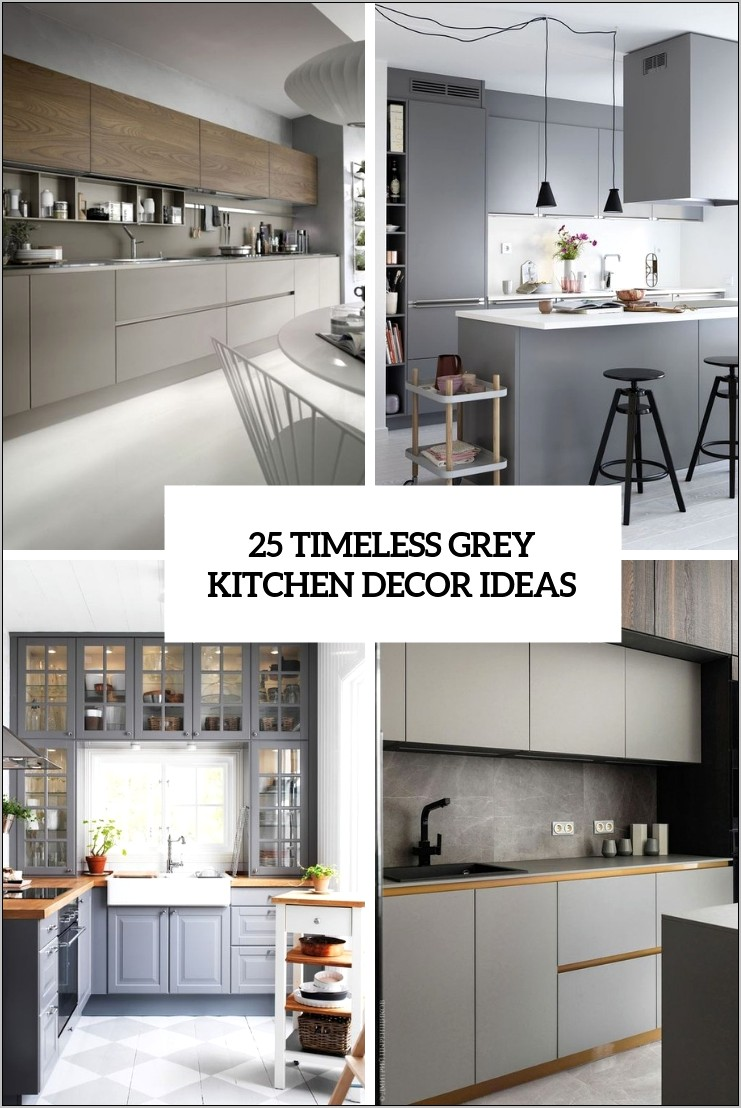 Grey Kitchen Decor Ideas