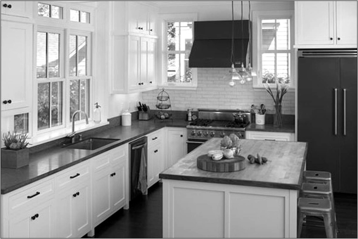 Grey White Kitchen Decor