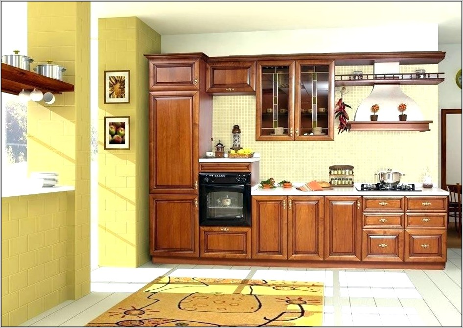 Hanging About Kitchen Cabinets Decor