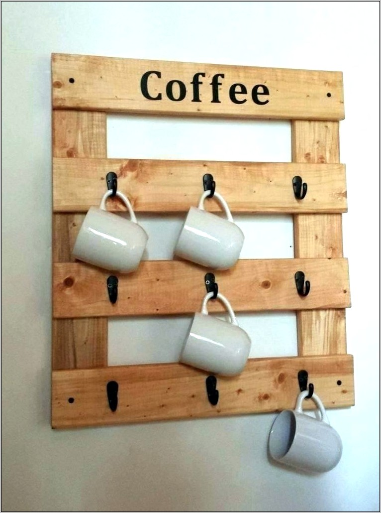 Hanging Coffee Mugs Kitchen Decor