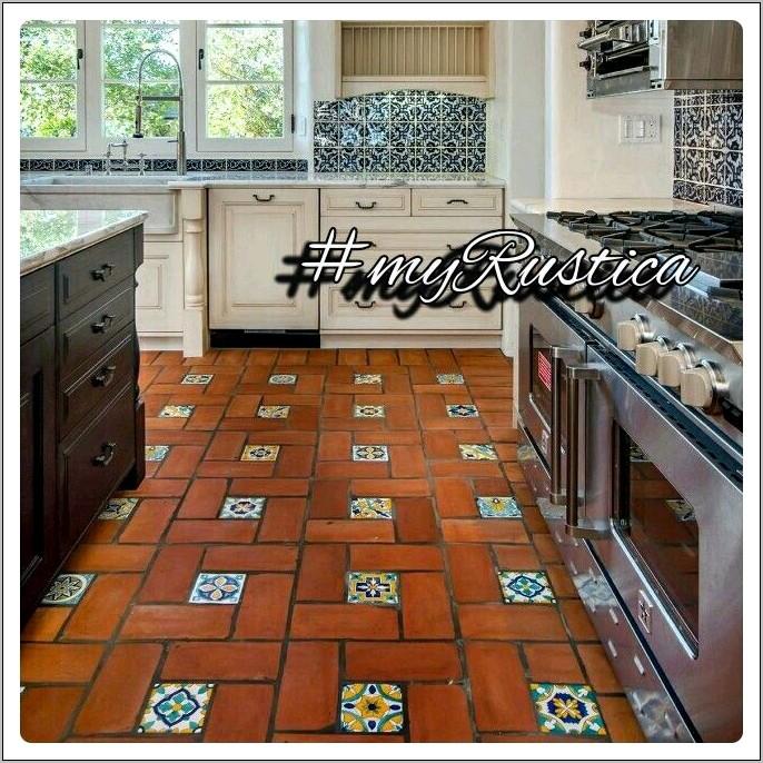 Hasienda Kitchen Decor Terrecotta Tile