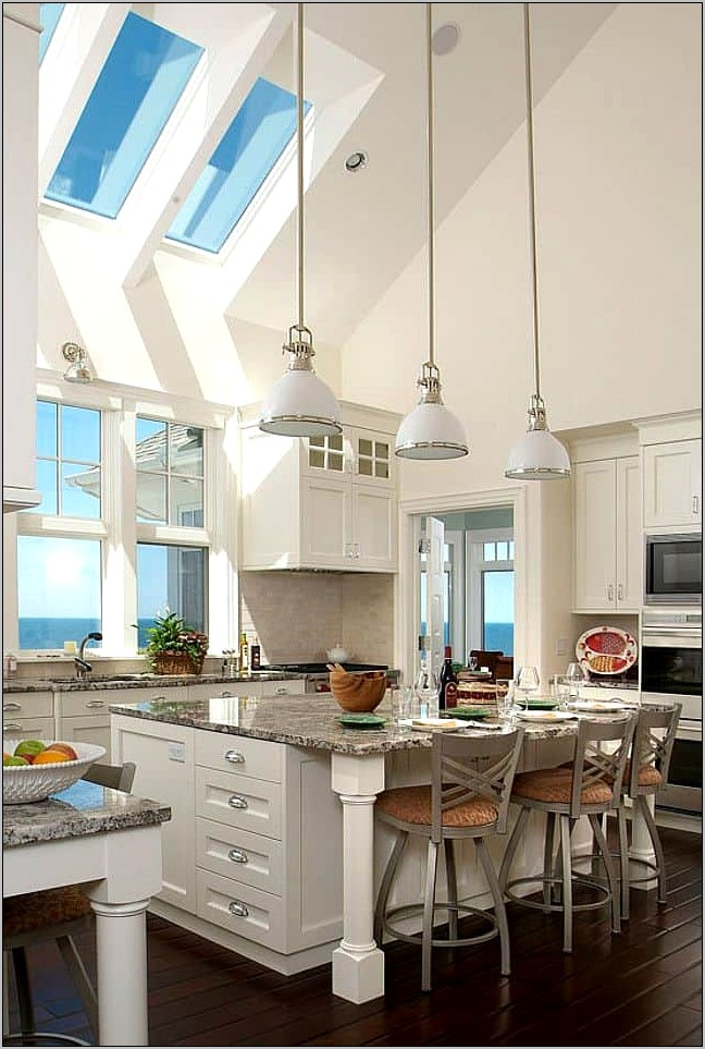 High Ceiling Kitchen Decorating Ideas